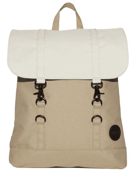 Rucksack City Backpack Mini Khaki/Natur von Enter
