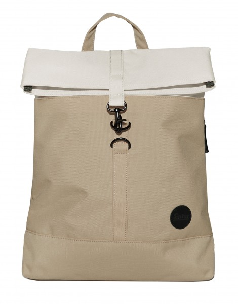 Rucksack City Fold Top Backpack Khaki/Natur von Enter