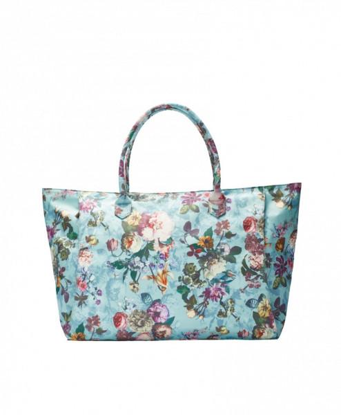 Tasche PUCK Fleur Dusty Aqua L von Essenza