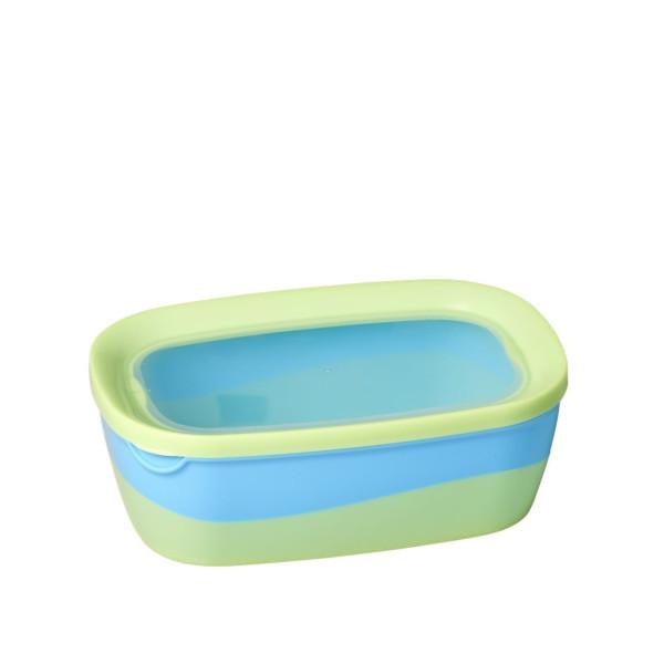 Lunchbox Türkis klein