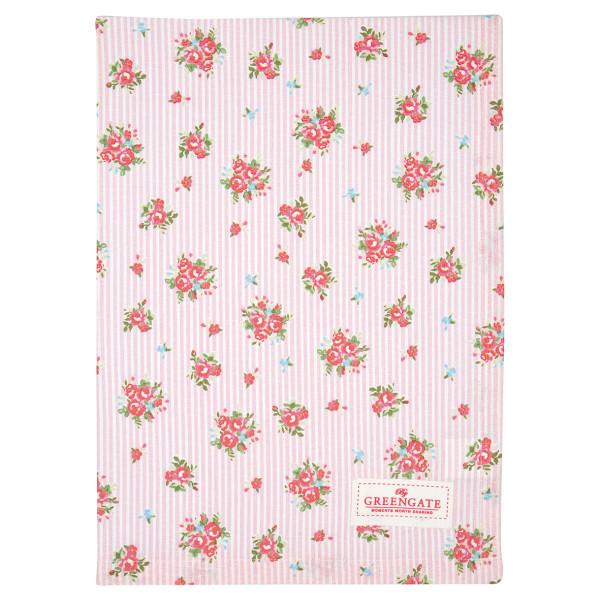 Geschirrhandtuch Abigail Stripe Pale Pink von GreenGate
