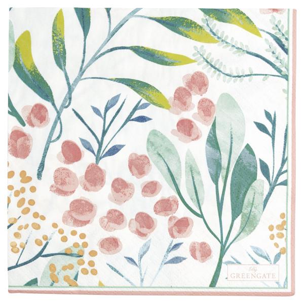 Große Papierserviette Megan White von GreenGate