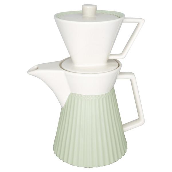 Kaffekanne mit Filter Alice Pale Green