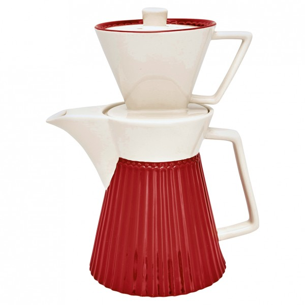 Kaffeekanne mit Filter Alice Red