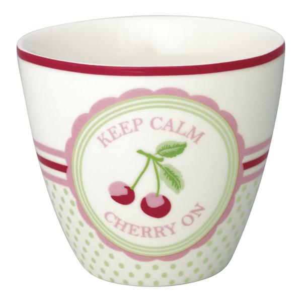 Latte Cup Cherry Mega White von GreenGate