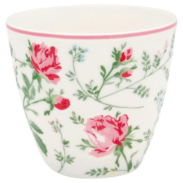 Latte Cup Constance White von GreenGate