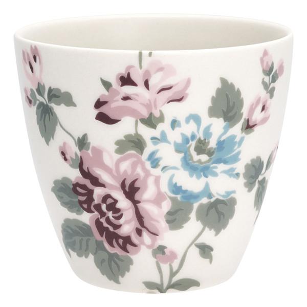 Latte Cup Maude White