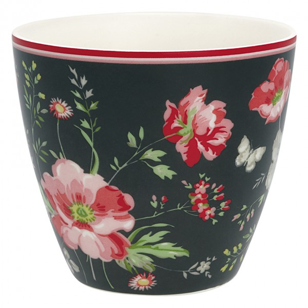 Latte Cup Meadow Black