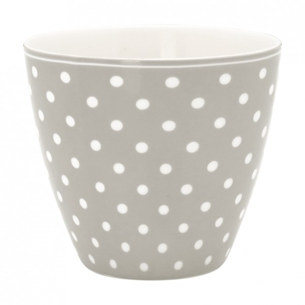 Latte Cup Spot Grey von GreenGate