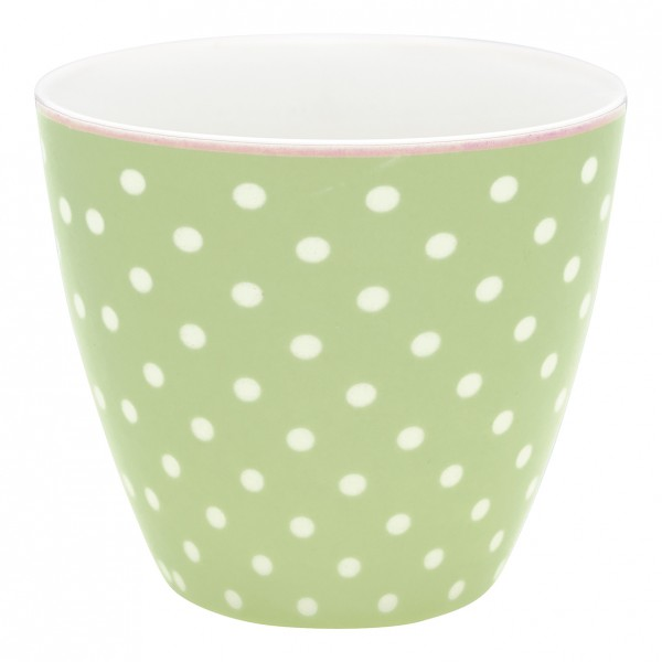 Latte Cup Spot Pale Green von GreenGate
