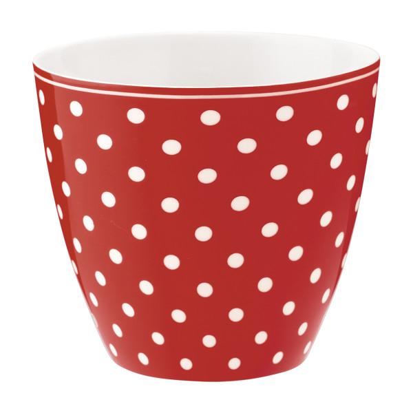Latte Cup Spot Red von GreenGate