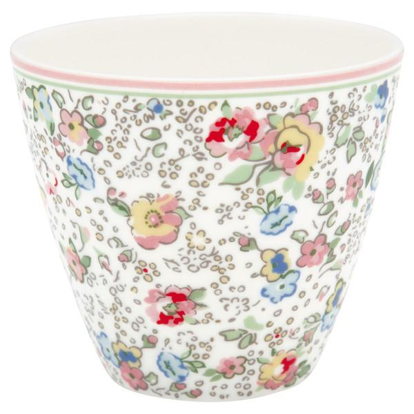 Latte Cup Vivianne White von GreenGate