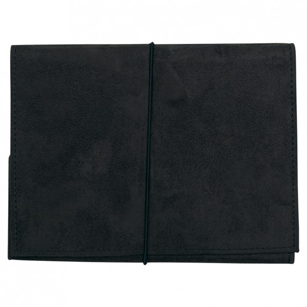 Notizbuch A5 Black Suede