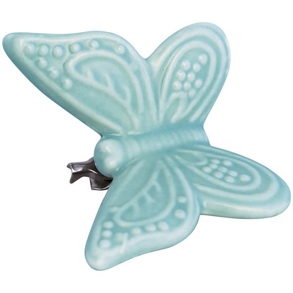 Ornament Schmetterling Pale Green mit Clip S von GreenGate
