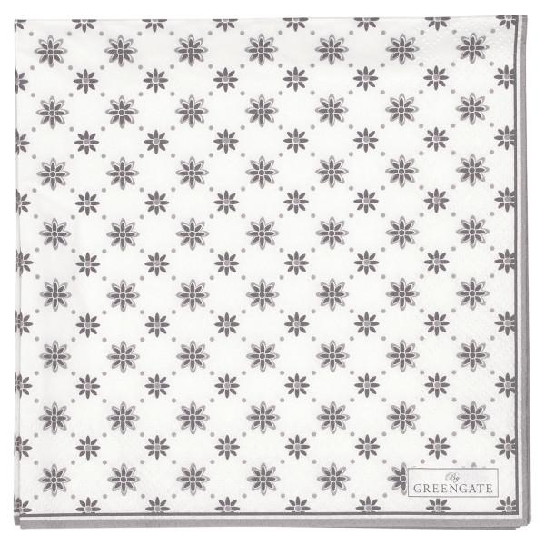 Große Papierservietten Laurie White