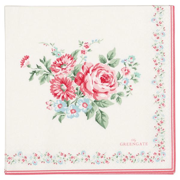 Große Papierservietten Marley Pale Pink