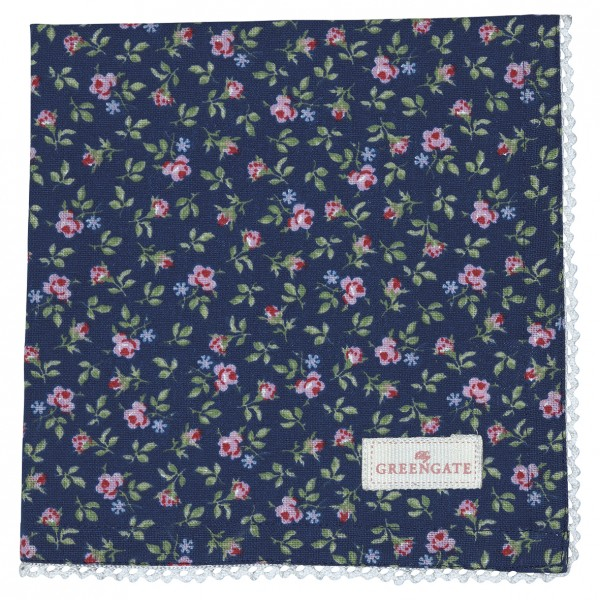 Stoffserviette Berta Dark Blue von GreenGate