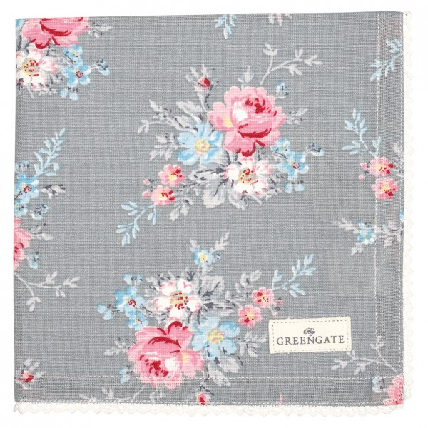 Stoffserviette Marie Pale Grey