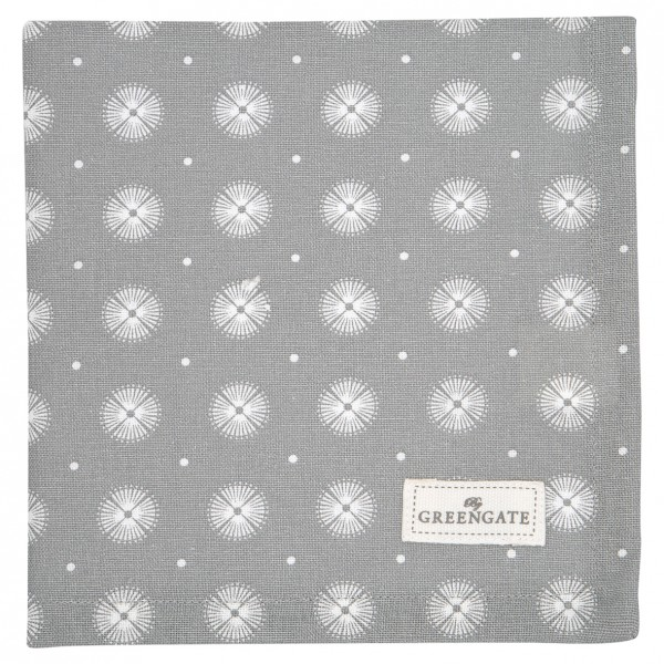 Stoffserviette Saga Warm Grey von GreenGate