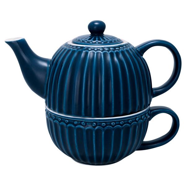 Teekanne for One Alice Dark Blue