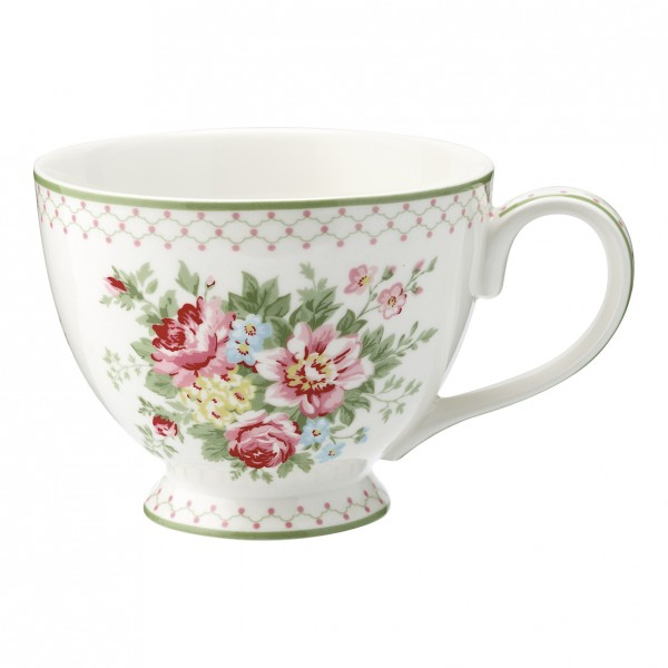 Teetasse Aurelia White von GreenGate
