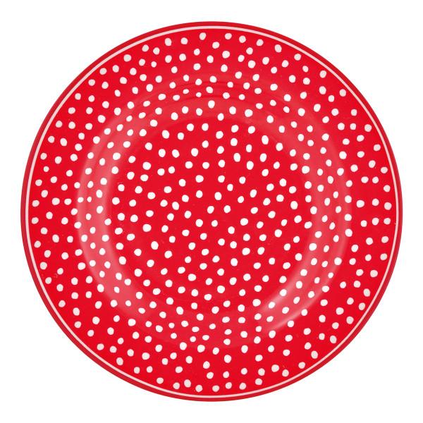 Kleiner Teller Dot Red von GreenGate