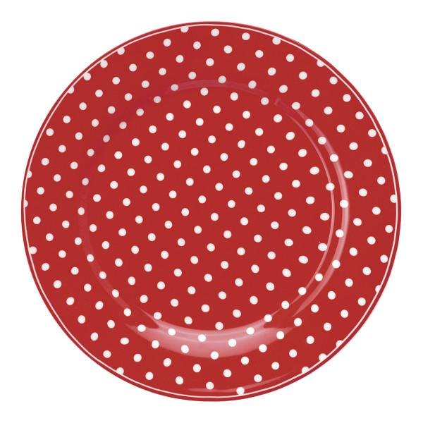 Teller Spot Red von GreenGate