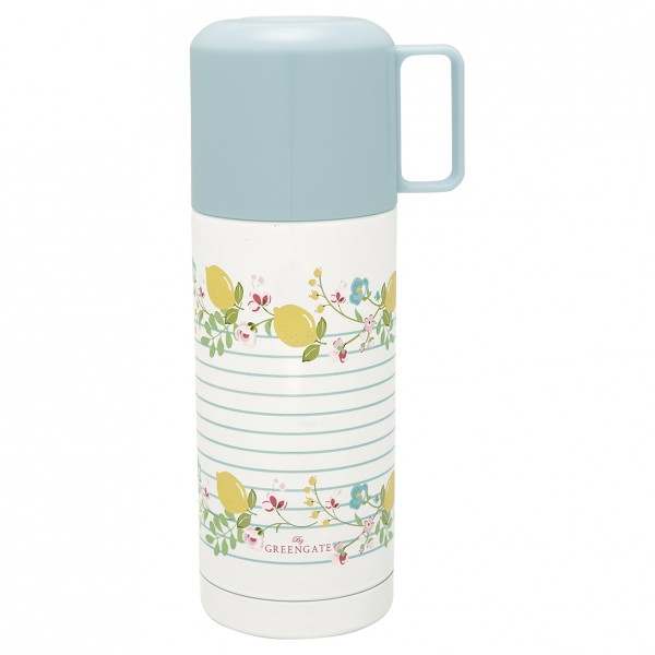 Thermoskanne Limone White 350ml von GreenGate