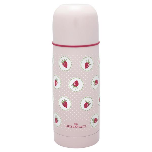 Thermoskanne Strawberry Pale Pink 300ml von GreenGate