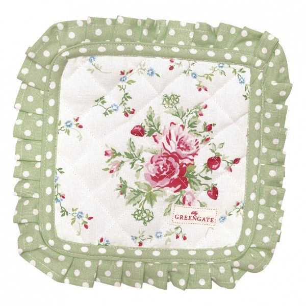 Topflappen Mary White 2er Set von GreenGate