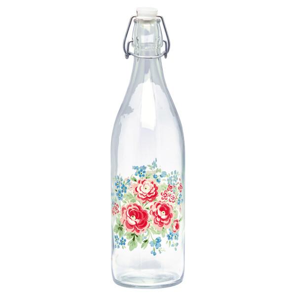 Glasflasche Tess White