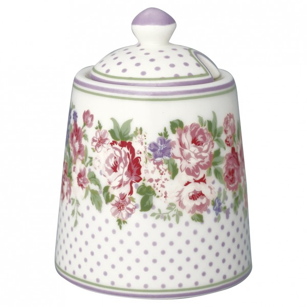 Zuckerdose Rose White von GreenGate