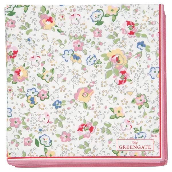 Kleine Papierservietten Vivianne White von GreenGate