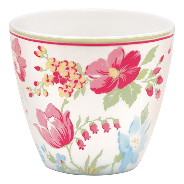 Latte Cup Donna White