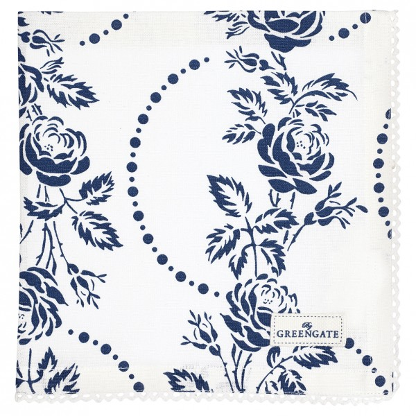 Stoffserviette Fleur Blue