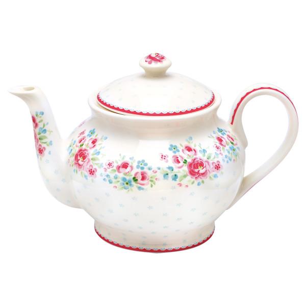 Teekanne Tess White