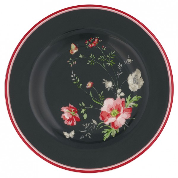 Kleiner Teller Meadow Black von GreenGate