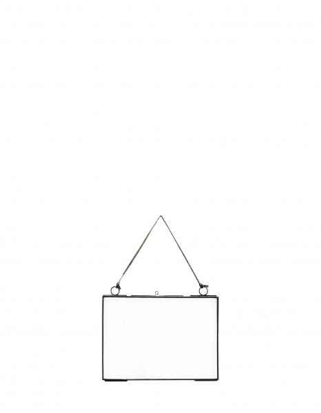 Madam Stoltz Bilderrahmen zum Hängen Schwarz 13x18cm