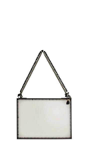 Spiegel zum Hängen Schwarz 20x15cm