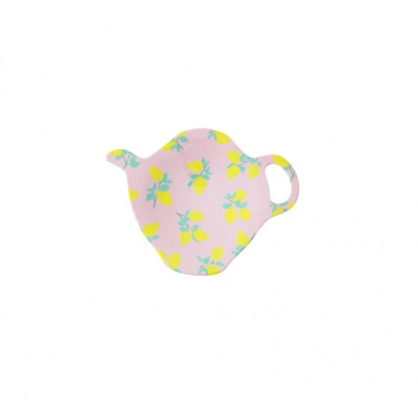 Melamin Tea Bag Plate Lemon