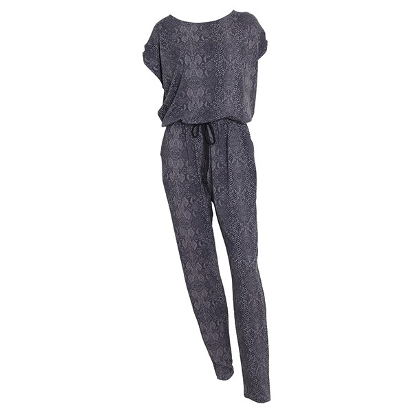 Jersey Jumpsuit Alli Warm Grey