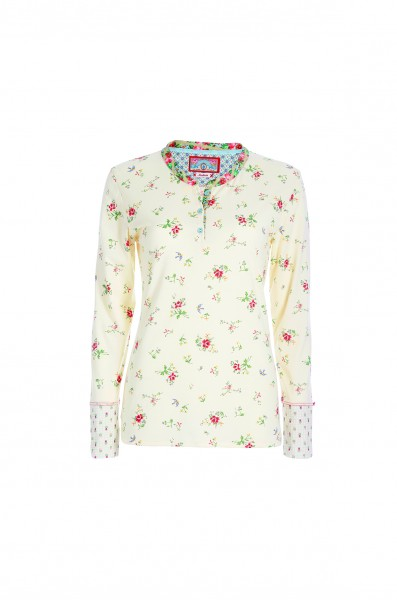 Langarm-Shirt Telma Granny PiP S Antique White