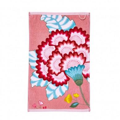 Gästehandtuch Floral fantasy Pink