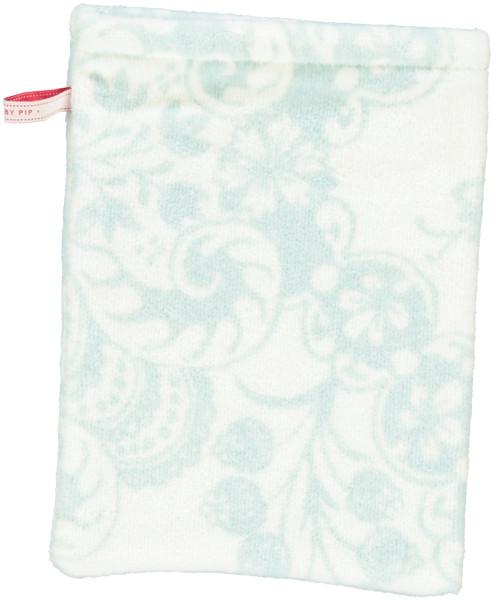 Waschhandtuch Lacy dutch Blau