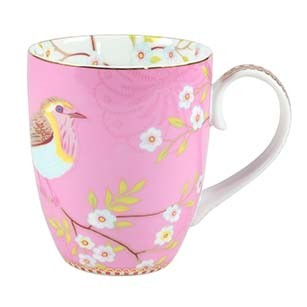Großer Becher Early Bird Pink