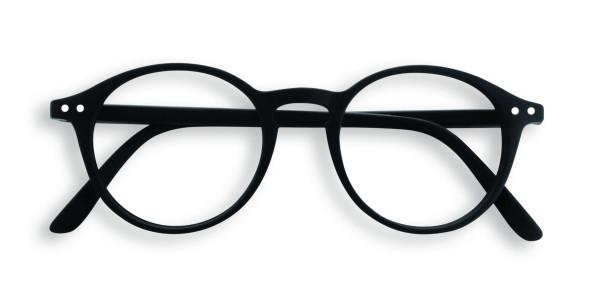 Lesebrille #D Black Soft +1,00