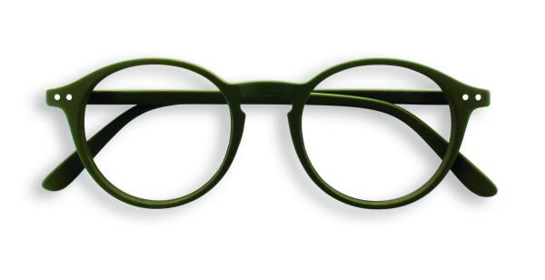 Lesebrille #D Kaki Green Soft +2,00