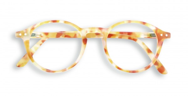 Lesebrille #D Yellow Tortoise Soft +1,00