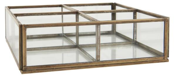 Glasbox m. 4 Fächern von IB Laursen