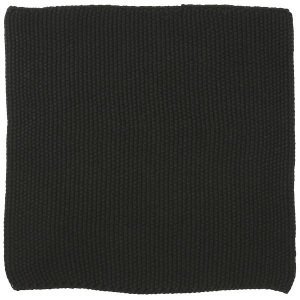 Spüllappen Mynte pure Black gestrickt von IB Laursen
